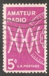 Stamps United States -  Radio amador