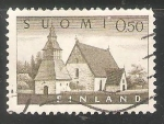Sellos de Europa - Finlandia -  Iglesia lammi