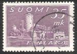 Sellos del Mundo : Europa : Finlandia : Castillo de Olavinlinna