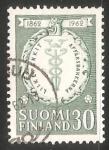 Sellos de Europa - Finlandia -  Banco comercial