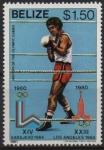 de America - Belice -  XIII  JUEGOS  OL�MPICOS  DE  INVIERNO  LAKE  PLACID  1980.  BOXEO.