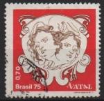 de America - Brasil -  NAVIDAD  1975.  �NGELES.