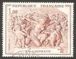 Sellos de Europa - Francia -  1641 - Escultura de J.B. Carpeaux