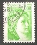 Stamps France -   Sabine
