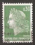 Stamps France -  Marianne of Cheffer