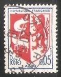 Stamps France -  Auch - escudo de armas