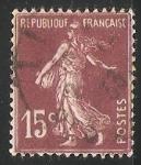 sello : Europa : Francia : Sembrador