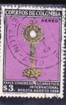 Stamps Colombia -  xxxIx Congreso eucarístico internacional Bogota