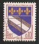 Sellos de Europa - Francia -  Escudo de armas - Troyes