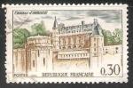 Stamps France -  Castillo de Amboise
