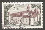 Stamps France -  Castle of Bazoches du Morvand