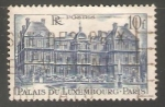 Stamps France -  Palacio del Luxemburgo