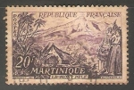 Stamps France -  Martinica