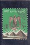 Stamps Egypt -  piramides