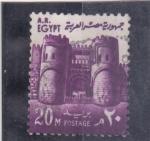de Africa - Egipto -  fortaleza