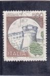 Stamps Italy -  castello de Robereto