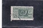 Sellos de Europa - Italia -  corneta de correos