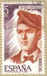 Stamps Spain -  Jacinto Verdaguer