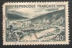Sellos de Europa - Francia -  VALLE E DE LA MEUSE