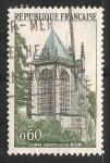 Sellos de Europa - Francia -  Sainte-Chapelle en Riom