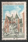 Sellos de Europa - Francia -  Castillo de Clos-Lucé