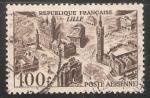 Sellos de Europa - Francia -  La Gran Mezquita de París es la mayor de Francia. Tiene una hectárea de superficie y un minarete de