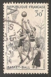 Sellos de Europa - Francia -  Basket Ball
