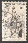 Sellos del Mundo : Europa : Francia : Basket Ball