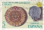 Stamps Spain -  viaje de SS.MM los reyes a Méjico (25)