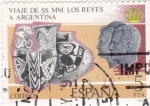 Sellos de Europa - España -  viaje SS.MM.los reyes a Argentina (25)