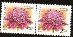 Stamps Asia - Singapore -  Flora - La flor del jengibre