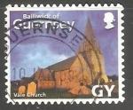Sellos del Mundo : Europa : Reino_Unido : Guernsey - Iglesia Parroquial de S. Michel du Valle