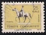 Sellos de Asia - Turquía -  Estatua de Kemal Ataturk