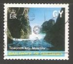 Sellos de Europa - Reino Unido -  Guernsey Telegraph Bay Alderney