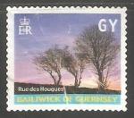 Sellos de Europa - Reino Unido -  Guernsey - Rue des houques