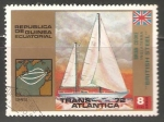 Sellos de Africa - Guinea Ecuatorial -  Transatlantica