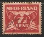 Sellos de Europa - Holanda -  Animal estilizado - paloma volando