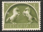 Stamps Netherlands -  Caballos