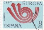 Stamps Spain -  EUROPA CEPT (25)
