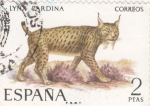 Sellos de Europa - España -  FAUNA-lince (25)