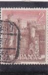 Stamps Spain -  Castillo de Ponferrada (25)