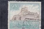 Sellos de Europa - España -  castillo de Peñiscola (25)