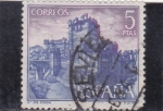 Stamps : Europe : Spain :  castillo de Coca-Segovia (25)