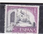Stamps Spain -  prisión de Cervantes-Argamasilla de Alba (25)