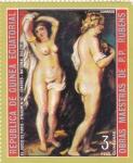 Stamps : Africa : Equatorial_Guinea :  pintura desnudos- Rubens