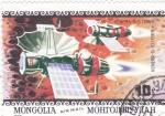 Sellos de Asia - Mongolia -  aeronautica- Venera