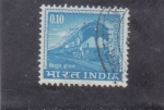 Stamps : Asia : India :  FERROCARRIL