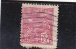 Stamps : America : Brazil :  Aviaçao
