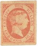 Stamps Europe - Spain -  Reina Isabel II