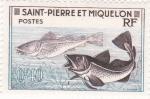 Stamps San Pierre & Miquelon -  PECES